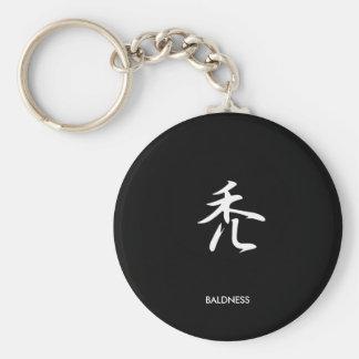 Baldness - Hage Key Chains