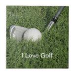 Baldosa cerámica 4 del tema del golf azulejo cerámica