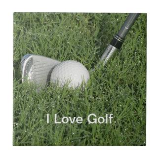 Baldosa cerámica 4 del tema del golf azulejo cuadrado pequeño