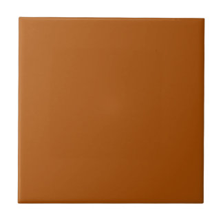 Baldosa cerámica anaranjada quemada sólido azulejo cuadrado pequeño