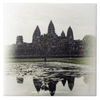 Baldosa cerámica de Camboya del templo de Angkor W Azulejo Cerámica