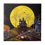 Baldosa cerámica de Halloween, frecuentada, casa,  Azulejos