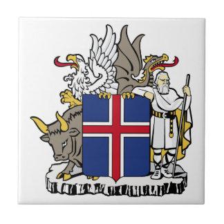Baldosa cerámica de Islandia Azulejo Cuadrado Pequeño