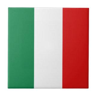 Baldosa cerámica de la bandera de Italia Azulejo Cuadrado Pequeño
