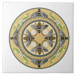 Baldosa cerámica de la colmena azulejo cuadrado grande
