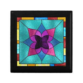 Baldosa cerámica de la flor de la mirada del vitra caja de joyas