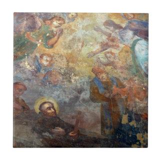 Baldosa cerámica de la impresión religiosa del art azulejo ceramica