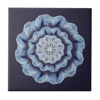 Baldosa cerámica de la mandala azul de la gloria azulejos cerámicos