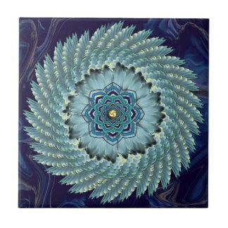 Baldosa cerámica de la mandala de Lotus del ala Azulejos Cerámicos