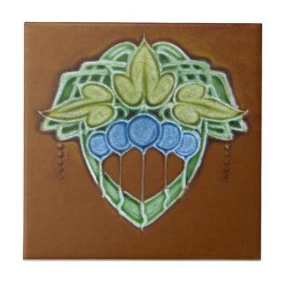 Baldosa cerámica de la reproducción del art déco A Azulejo Cerámica