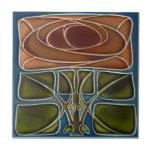 Baldosa cerámica de la reproducción del art déco A Teja Ceramica