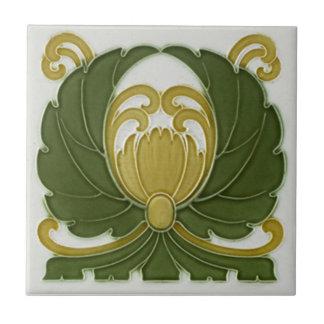 Baldosa cerámica de la reproducción del art déco A Teja