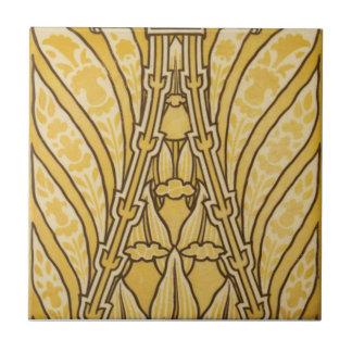 Baldosa cerámica de la reproducción del art déco A Tejas Ceramicas