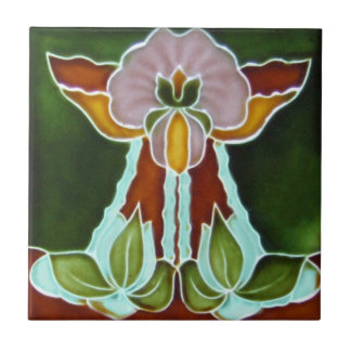 Baldosa cerámica de la reproducción del art déco A Azulejos Cerámicos