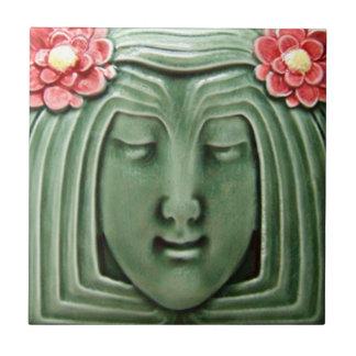 Baldosa cerámica de la reproducción del art déco A Azulejo