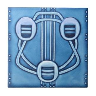 Baldosa cerámica de la reproducción del art déco A Teja Cerámica