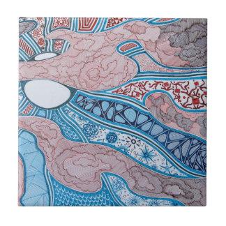 Baldosa cerámica de la sopa primordial azulejo cuadrado pequeño