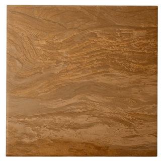 Baldosa cerámica de la textura de madera de Brown Azulejo Cuadrado Grande