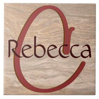Baldosa cerámica de la textura de madera poner cre azulejo cuadrado grande