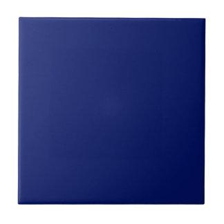 Baldosa cerámica de los azules marinos sólidos azulejo cuadrado pequeño