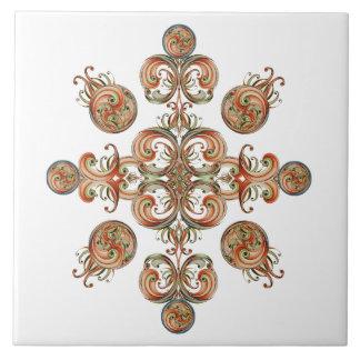 Baldosa cerámica de los orbes de la cinta teja  ceramica