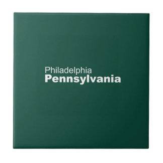 Baldosa cerámica de Philadelphia, Pennsylvania Azulejo Cuadrado Pequeño