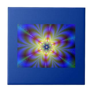 Baldosa cerámica de Starburst Azulejo Cuadrado Pequeño