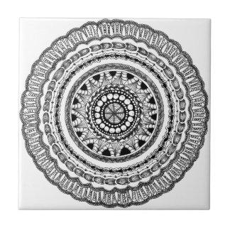 "Baldosa cerámica de Zendala ""Queste"" Azulejo Cuadrado Pequeño"