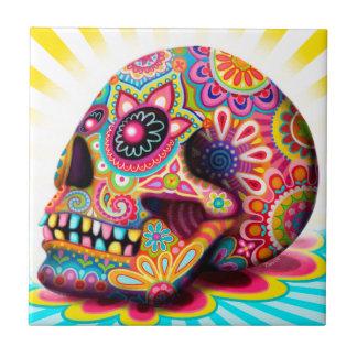 Baldosa cerámica del azúcar del arte colorido del  azulejo cerámica