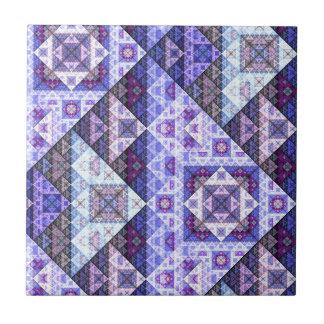 Baldosa cerámica del modelo Amethyst púrpura Azulejo Cuadrado Pequeño