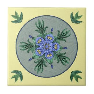 Baldosa cerámica floral de piedra de Dreamcatcher Azulejos Ceramicos