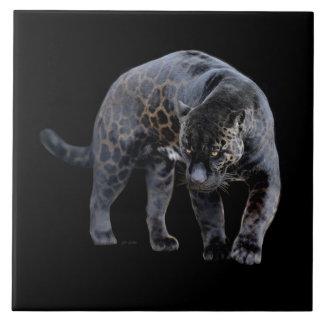 Baldosa cerámica grande de Jaguar Diablo Azulejo Cuadrado Grande