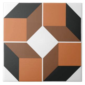 Baldosa cerámica grande del módulo 4 de Brown Azulejo Cuadrado Grande
