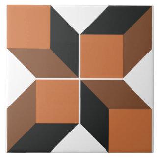 Baldosa cerámica grande del módulo 5 de Brown Azulejo Cuadrado Grande