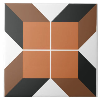 Baldosa cerámica grande del módulo 6 de Brown Azulejo Cuadrado Grande