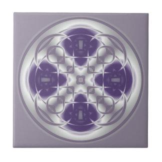 Baldosa cerámica púrpura y gris del extracto del c azulejos