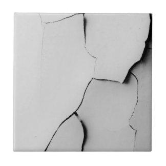 Baldosa cerámica quebrada teja