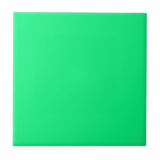 Baldosa cerámica verde clara sólida azulejo cuadrado pequeño