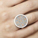 Baldosas cerámicas anillos con foto