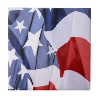Baldosas cerámicas de la bandera americana de la l azulejo cuadrado pequeño