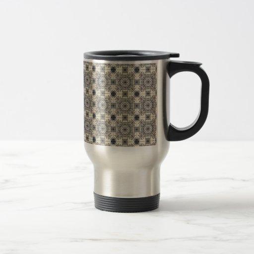 Baldosas cerámicas holandesas 3 taza de café