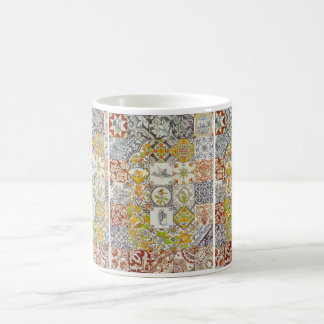 Baldosas cerámicas holandesas tazas