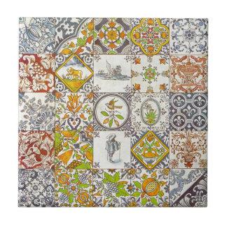 Baldosas cerámicas holandesas tejas
