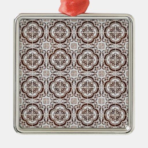 Baldosas cerámicas ornamentos para reyes magos