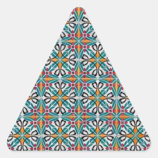 Baldosas cerámicas pegatina triangular