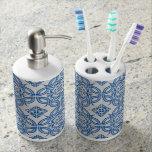 Baldosas cerámicas vasos para cepillos de dientes