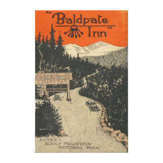 Baldpate Inn Promotional Poster # 1 Canvas Print