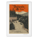 Baldpate Inn Promotional Poster # 1 Card