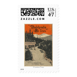 Baldpate Inn Promotional Poster # 1 Postage