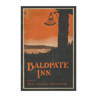 Baldpate Inn Promotional Poster # 2 Canvas Print